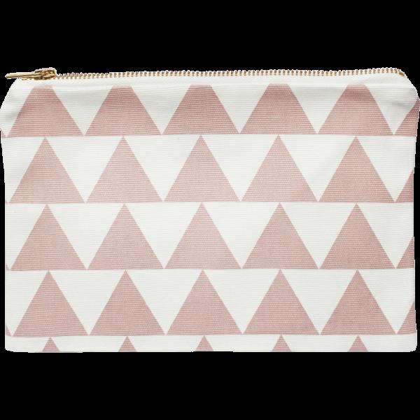 Kosmetiktasche Pink Triangle