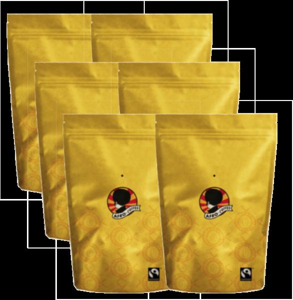Afro Coffee 6x Feinster Premium Kaffee