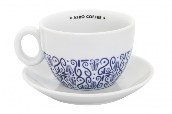 Kaffeetasse Afro Coffee Cafe LATTE XL - Pink