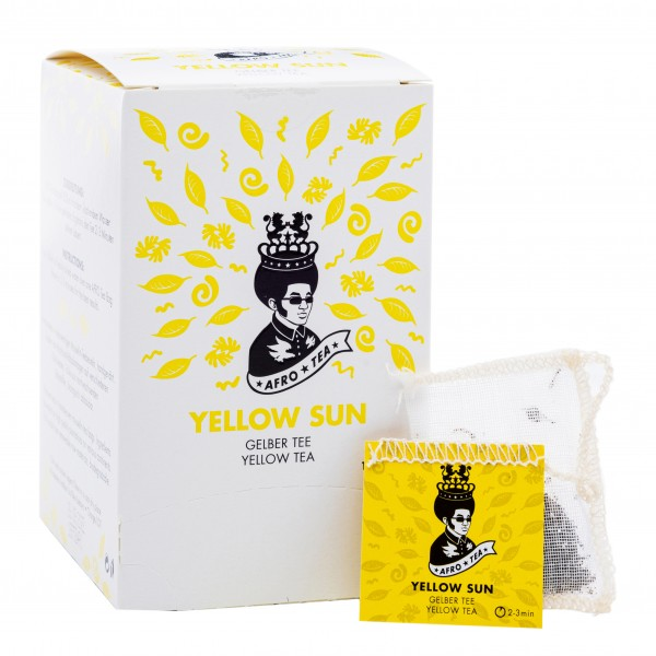 Afro Tea Yellow Sun