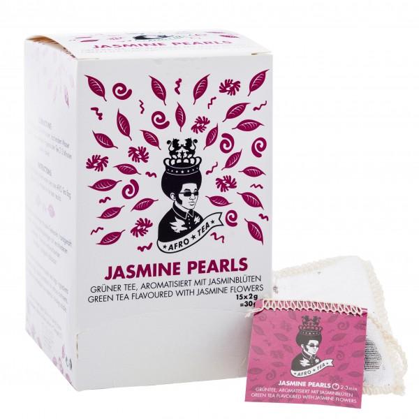 Afro Tea Jasmin Pearls