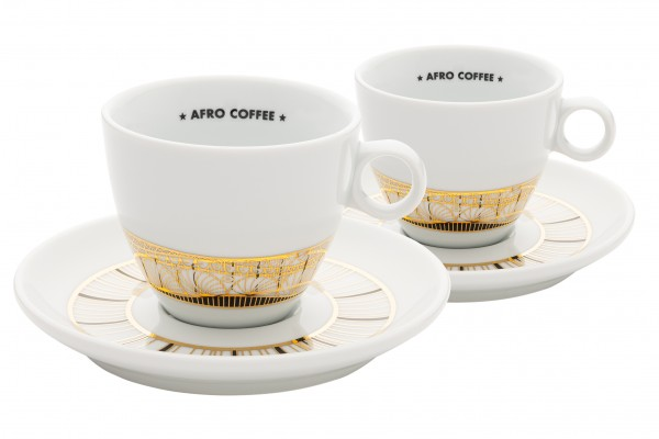 Cappuccino Tassen Limited Gold