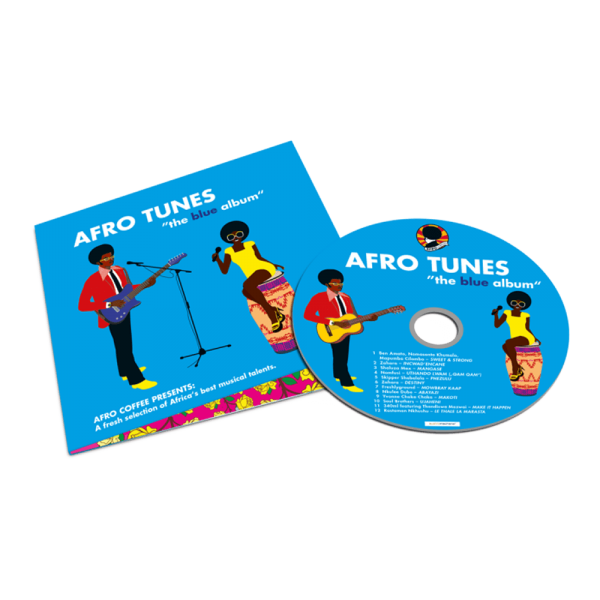 "CD Afro Tunes ""The blue album"" - Afro Music"
