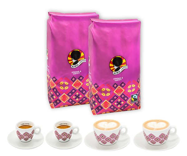 AFRO COFFEE Business Starter Set Strong & Earthy