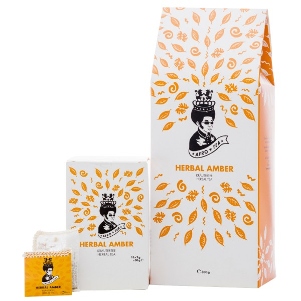 Kräutertee Herbal Amber-Set