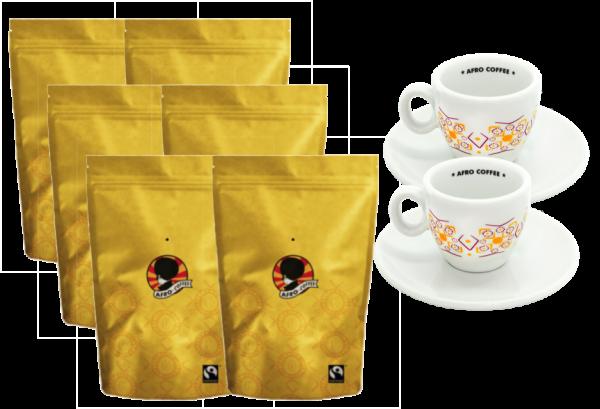 Kaffeevorrat AFRO COFFEE