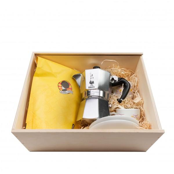 Kaffee Geschenk Box Afro Coffee