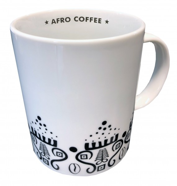 Afro Coffee Mug Ornament