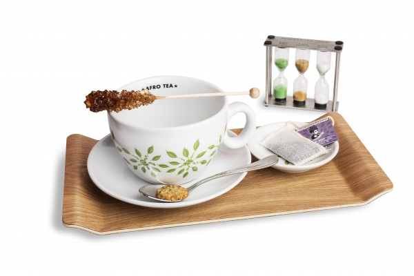 Afro Tea tray