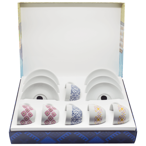 Cappuccino Gift Set with Cups