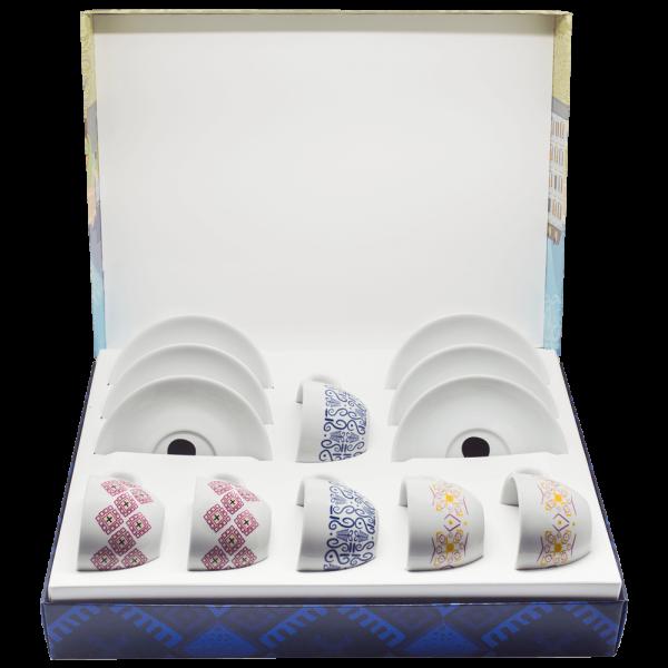 Geschenkbox Cappuccino Tassen