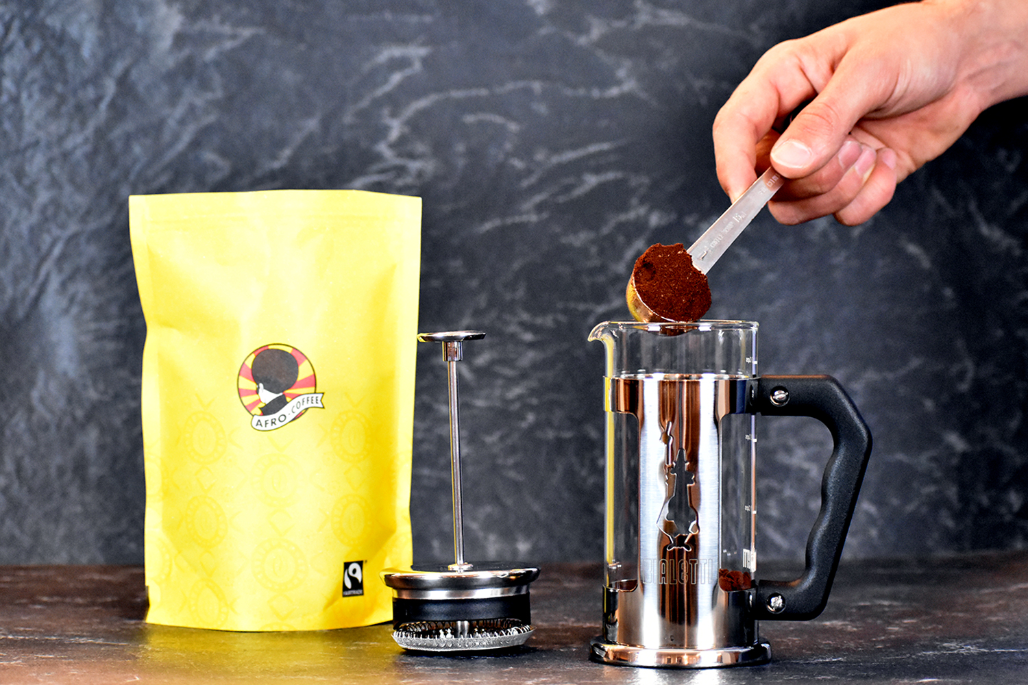 AFRO COFFEE French Press