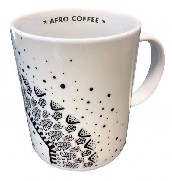 Afro Coffee Mug Dots