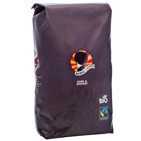 AFRO COFFEE Dark & Elegant Bio, Fairtrade