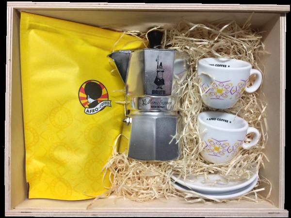 Geschenkbox Coffee aus Holz - Limited Edition