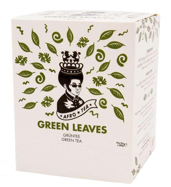 Afro Tea Grüntee Green Leaves