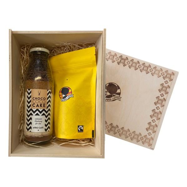 AFRO Coffee & Cake Geschenkbox