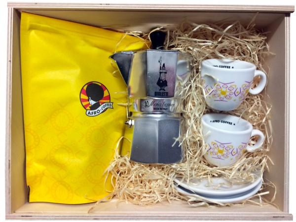 Kaffee Geschenkbox Afro Coffee